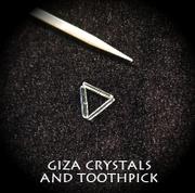 Tiny Giza Crystals