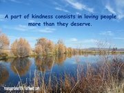 A PART OF KINDNESS