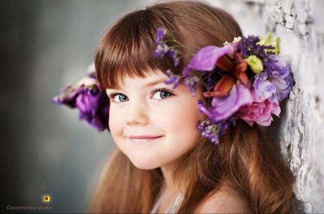 little girl pretty