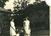kosova pics - me two years old  :dark shirt/white pants