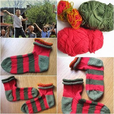 Bullerbü-Socken