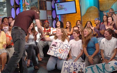 mtv - Josh and his fans