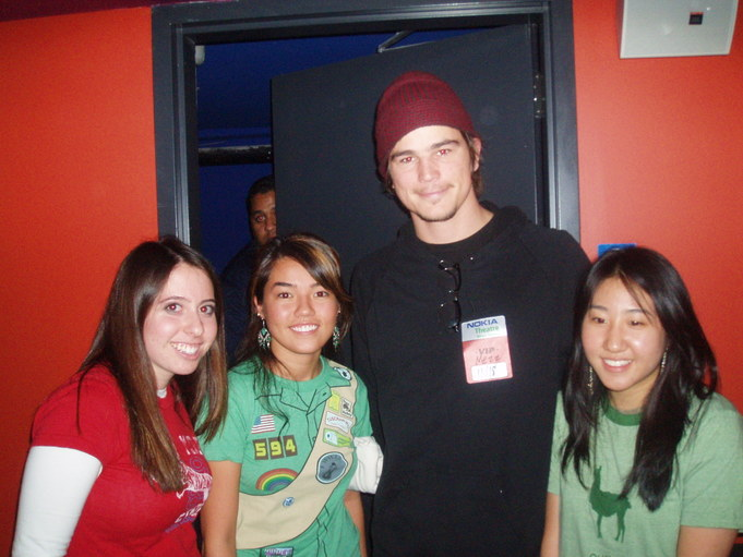 Josh and his fans