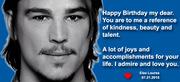 Feliz aniversário Josh