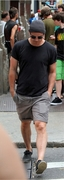 Josh walking in NY