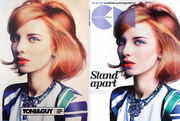 Lilla for the new TONI&GUY 50/50 collection, and for the cover of CREATIVE HEAD magazine's Christmas issue!