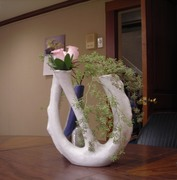 44. Two vases