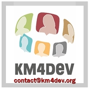 KM4Dev contact logo
