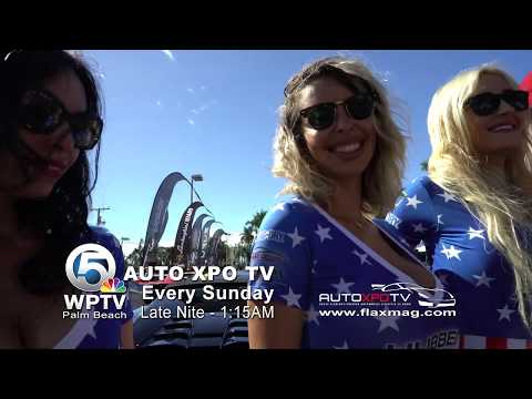 AUTO XPO TV Showcasing South Florida's Unique Automobile Lifestyle and Culture, on NBC WPTV 5, PALM