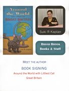 Event poster for book signing