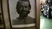 George Carlin on the wall of Manny's