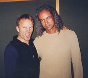 Darryl Tookes with Sting