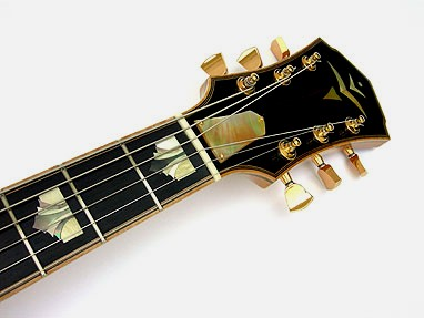 Archtop headstock