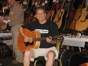 with a fine Guild 12-string, June '09 guitar show, Columbus OH