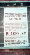 Blakesley final 'Withdrawal of Services' notice