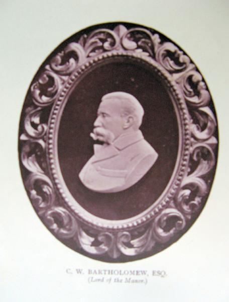 C W Bartholomew of Blakesley Hall Miniature Railway fame