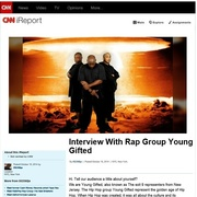 CNN News iReport Featuring Young Gifted