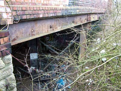 Towcester - Olney branch bridge 149