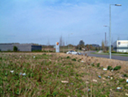 From Towcester station site looking towards Olney branch