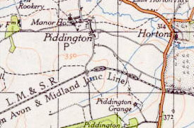 Site of Salcey Forest (SMJ) was just west of the bridge south of Horton