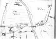 Station Plan and Track layout at Stratford-upon-Avon station(SMJ)