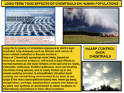 LONG-TERM, TOXIC-EFFECTS OF CHEMTRAILS ON NORMAL POPULATIONS
