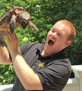 Alligator Snapping Turtle with Kevin