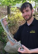 Alec with California King Snake