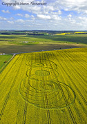New Crop Circle image near Stonehenge