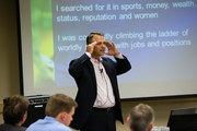 Kris Kirschner at the Financial Intelligence Conference