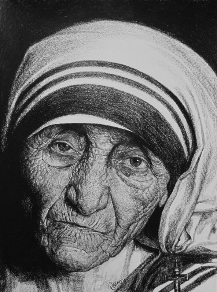 The most beautiful lady in the world - Mother
