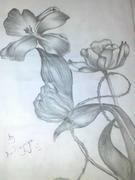 My first pencil work in the year.