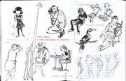 nikhilrajguru life drawing /urban sketching