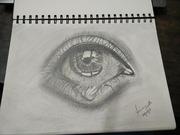 Tearing eye