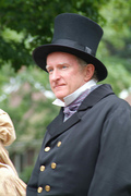 Senator Stephen M. Brewer in costume at OSV