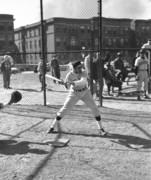 April, 1959 Baseball Game and practice