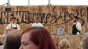 On holiday at the Newquay Fish Festival