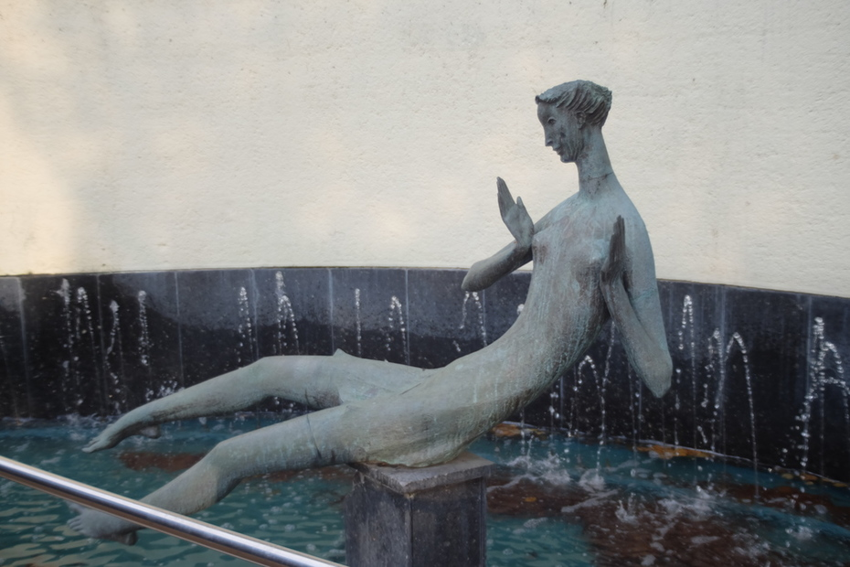 Hornsey library Fountain