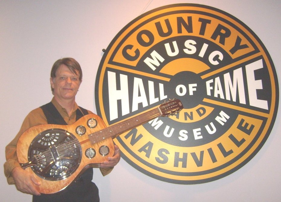 Hall of Fame & the Awesome Cain Dobro!