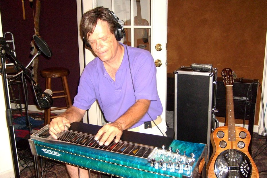 Playing Pedal Steel Guitar in a session!