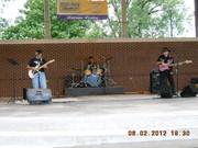The Nick Matthews Band at Wabash Festival