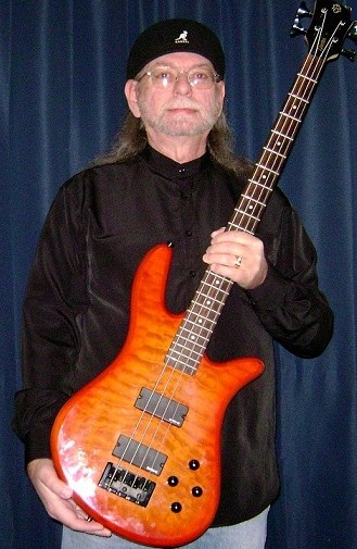 Glenn with his Spector Bass