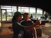 Fan taking a Selfie!