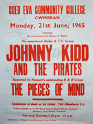 Supporting Johnny Kidd