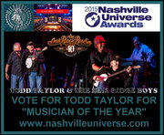 vote for todd taylor musician of  the year