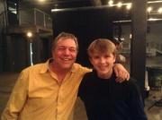The Amazing David Malloy & John-Robert (me)