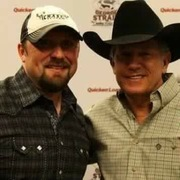 Tate Stevens with King George Strait