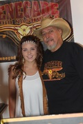 Shaniah Paige with Kaptain Jack Renegade Radio Nashville