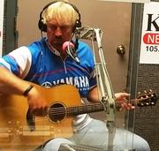 Garrett Steele on Mountain Man's radio show