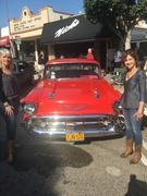Smith Sisters Bluegrass appear at Seal Beach Car Show